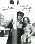 Tom Baker, Louise Jameson  -  Multi signed original autograph not a copy 10266
